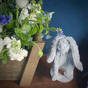 Grey Rabbit Rattle