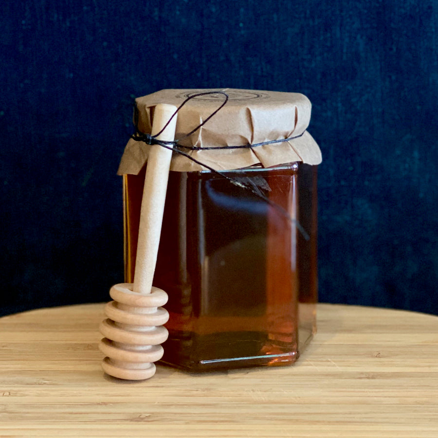Rustic Honey Jar