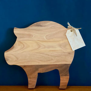 Rustic Pig Cheese Board