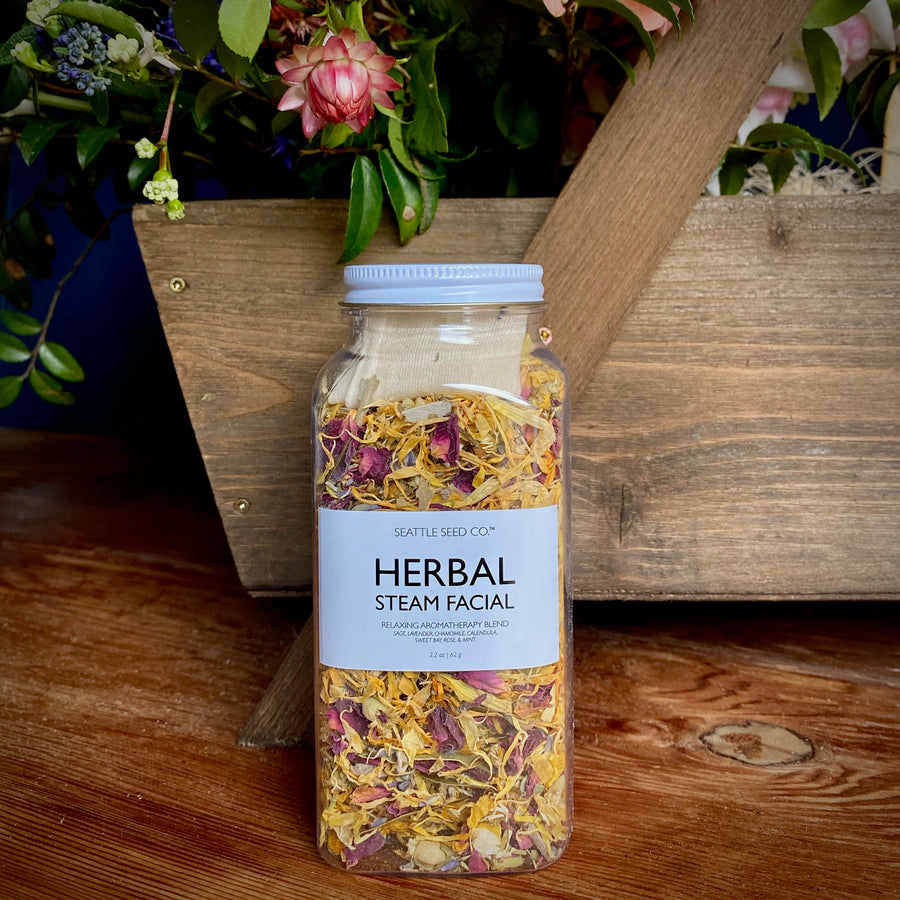 Seattle Seed Co Herbal Steam Facial