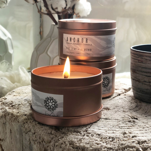 Sealuxe Rose Gold Tin Candle