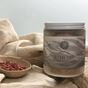 Sealuxe Ritual Rose Body Scrub