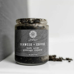 Sealuxe Seaweed and Coffee Scrub
