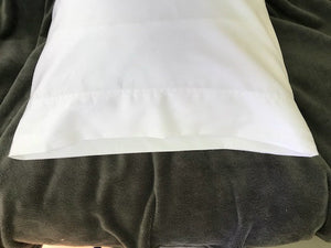 Delish Cotton Sateen Sheets (White)