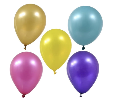 Colorful Latex Balloons- 50 count - AVM