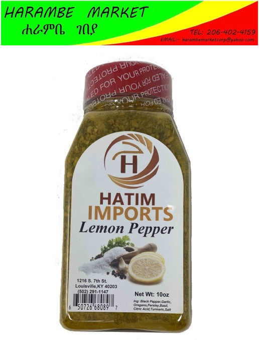 Hatim Imports Lemon Pepper - AVM
