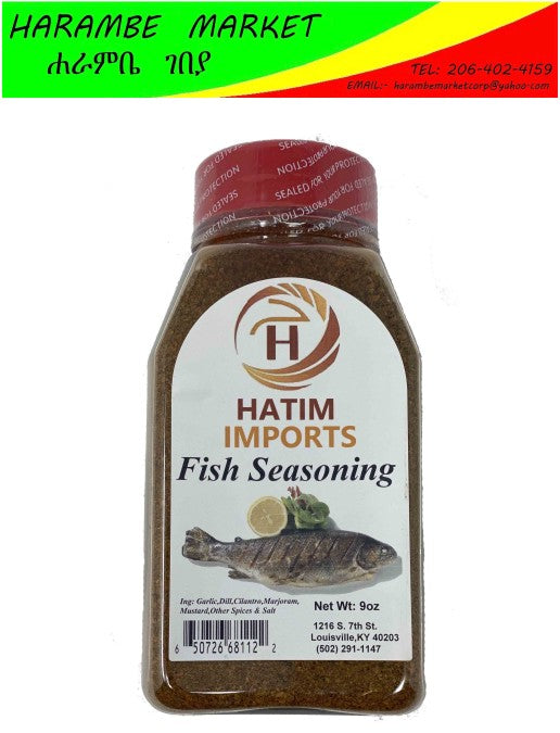 Hatim Imports Fish Seasoning - AVM