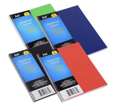 Poly-Covered Notebooks, 4 Count - AVM