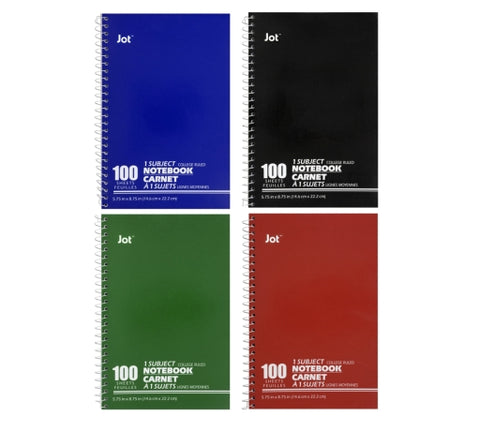Image of 100 pages Notebook, 6Pack - AVM