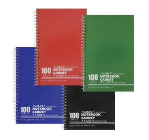 100 pages Notebook, 6Pack