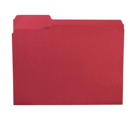 Image of Letter-Size File Folders- D20 - AVM