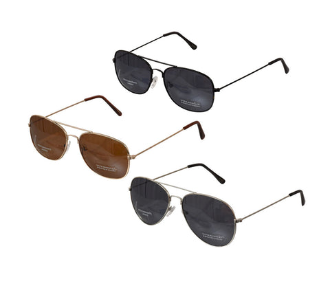 Image of Aviator Sunglasses with Wire Frames- D20 - AVM