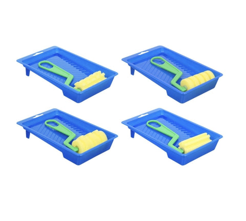 Foam Paint Rollers with Trays - AVM