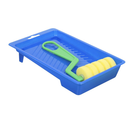 Image of Foam Paint Rollers with Trays - AVM