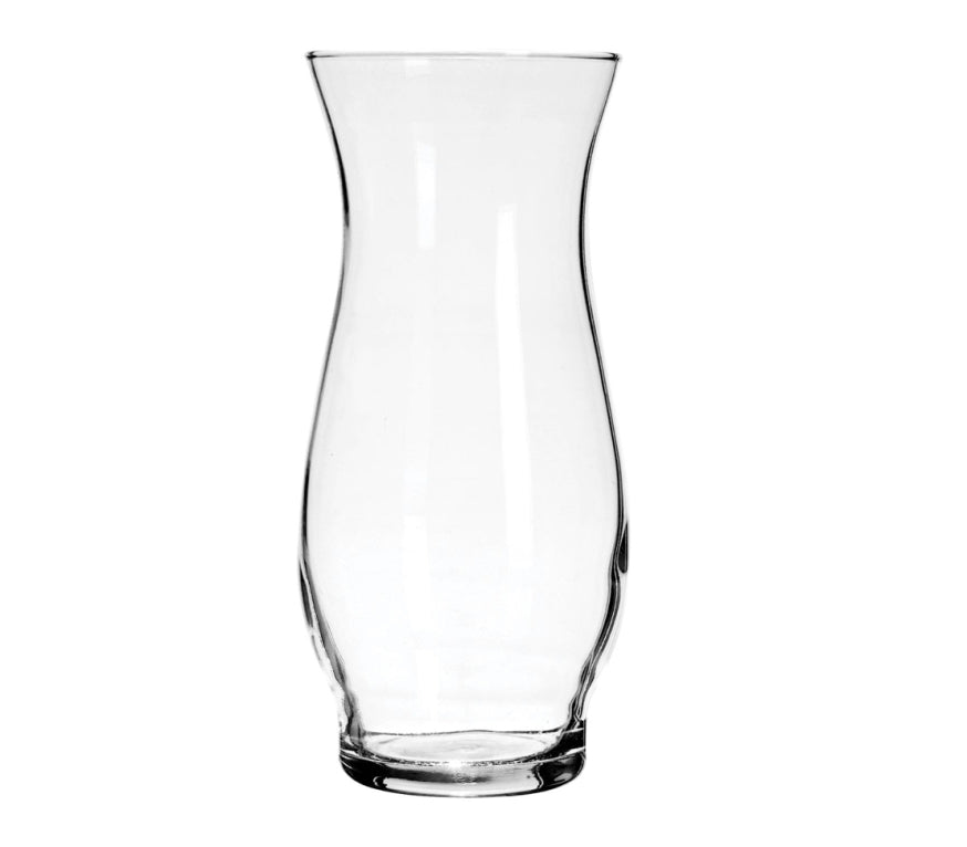 Clear Glass Hurricane Stem Vases - AVM