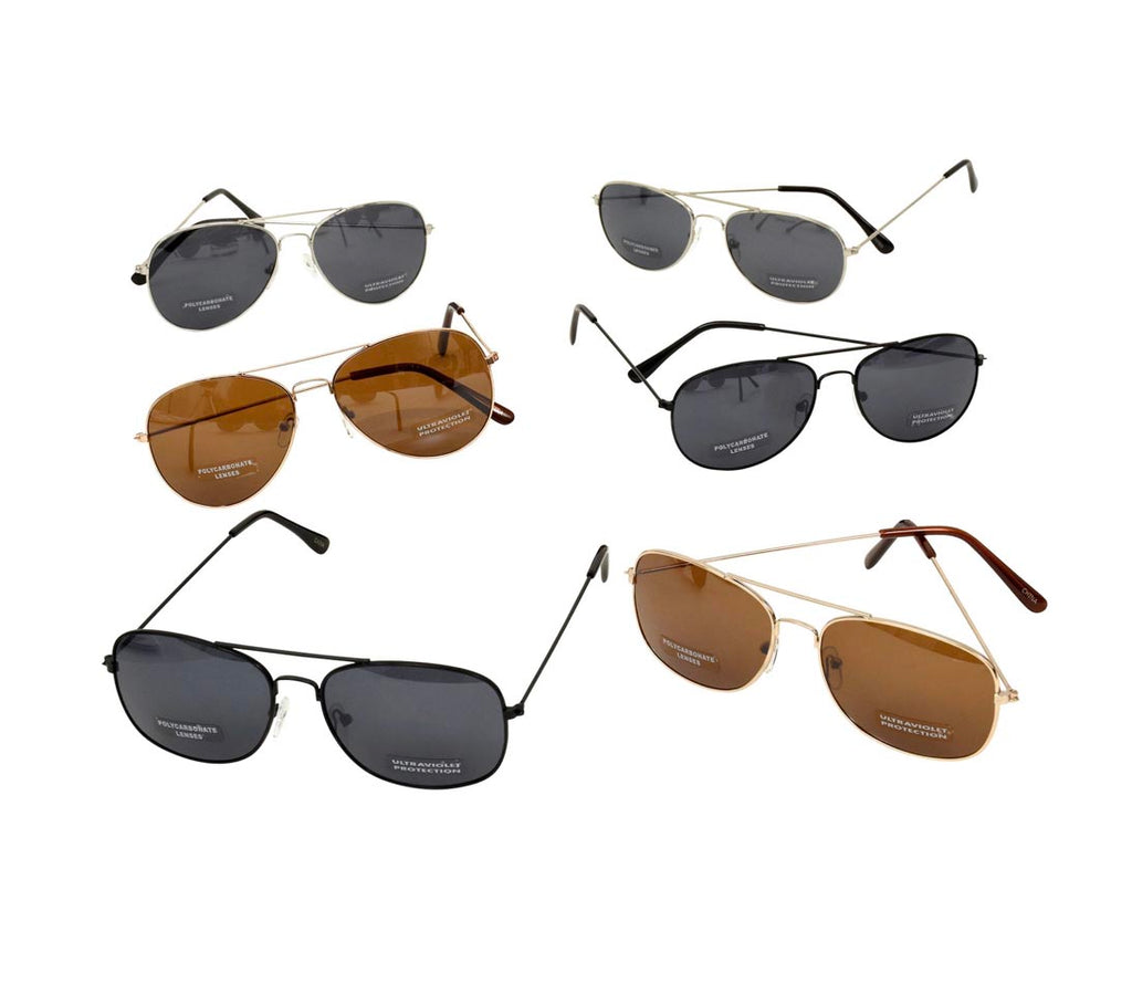 Aviator Sunglasses with Wire Frames- D20 - AVM