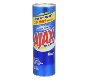 Ajax Powder Cleaners with Bleach - AVM