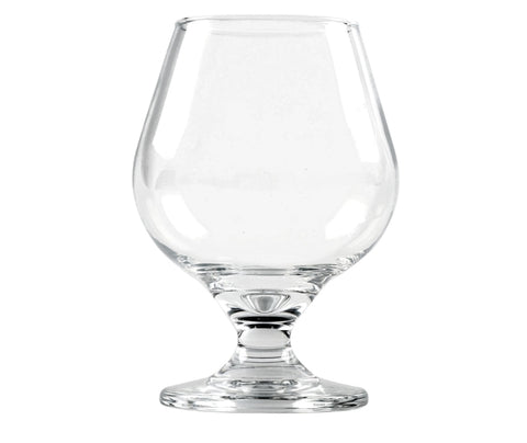 Image of Clear Glass Brandy Snifters- 6 glasses - AVM