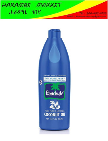 Image of Parachute Coconut Oil 18.8 Fl.oz - AVM