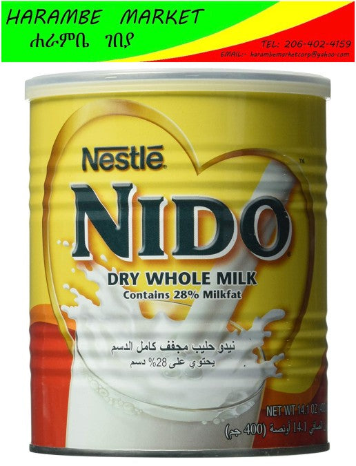 Nido Dry Whole Milk - AVM