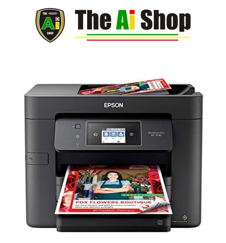 All-in-One Wireless Color Printer with Copier, Scanner, Fax and Wi-Fi Direct - AVM