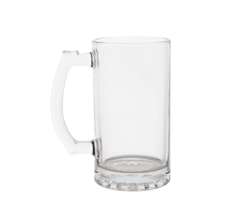 Glass Sports Mugs with Handles- 4 count - AVM
