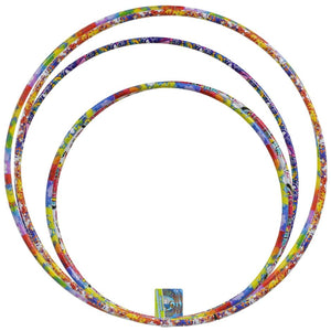 Colorful Assorted Plastic Fun Hoops- 3 count