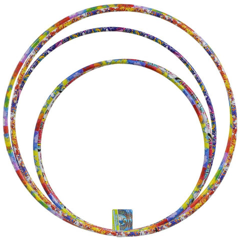 Image of Colorful Assorted Plastic Fun Hoops- 3 count - AVM