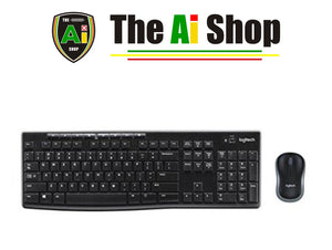 Wireless Keyboard and Mouse Combo - AVM