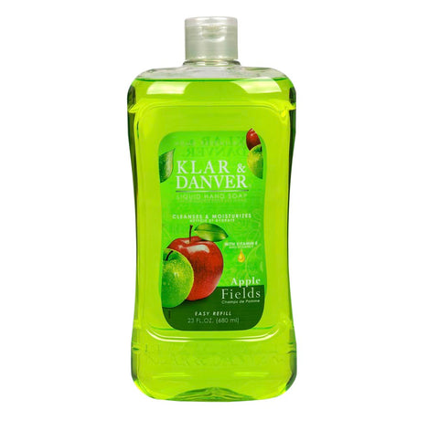 Apple Fields Liquid Hand Soap- 4 Counts - AVM