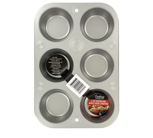 Cup Steel Muffin Pans- 2 pack
