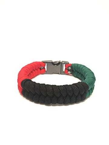 Pan Afrikan Flag Mens & Women Bracelet Jewelry - AVM