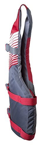 Oversize Fit Life Jacket/Personal Floatation Device, Red/Gray - AVM