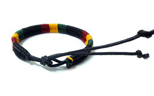 Rasta Plaided Hippie Bracelet