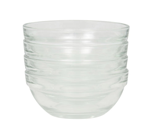 Glass Prep Bowls- 4 count - AVM