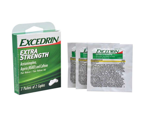 Image of Excedrin Extra Strength Caplets- 12 count (2 pack) - AVM