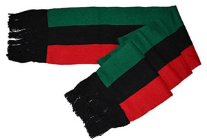 Pan-afrikan Flag Inspired Scarf - AVM