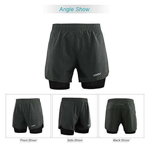 Men's 2-in-1 Running Shorts - AVM