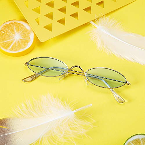 12 Pieces Oval Sunglasses - AVM