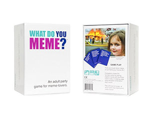 WHAT DO YOU MEME? Party Game A136