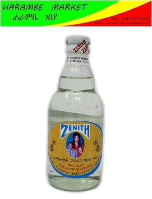 Zenith Paraffin Hair Oil, Restores Shine And Volume For Dry And Damaged Hair - AVM