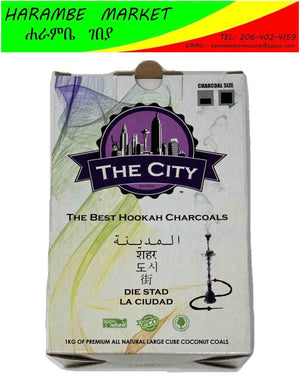 The City Hookah Charcoals - AVM