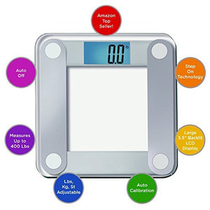 Products Free Body Tape Measure Included Digital Bathroom Scale