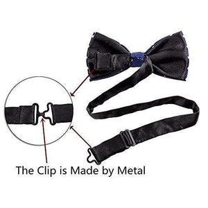 8 PACKS Elegant Adjustable Pre-tied bow ties for Men And Boys