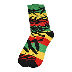Men's Marijuana Leaf Socks