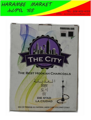 Image of The city The best hookah charcoal - AVM