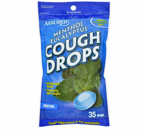 Image of Menthol Eucalyptus Cough Drops- D20 - AVM