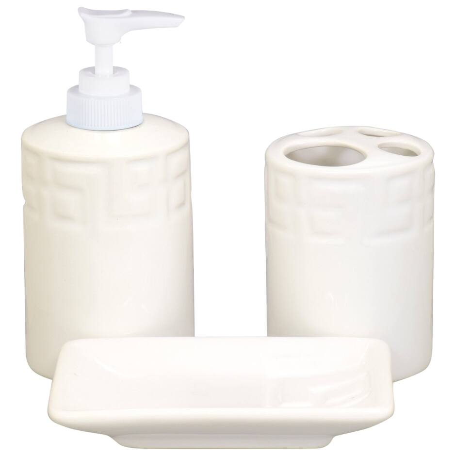Dolomite Tile Bathroom Accessories - AVM