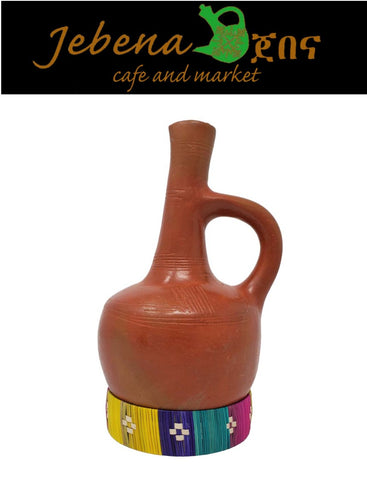 Image of Jebena, Ethiopian and Eritrean Traditional Coffee Maker Made From Clay - AVM