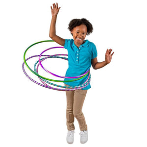 Colorful Assorted Plastic Fun Hoops- 3 count - AVM